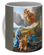 The Return Of The Holy Family From Egypt Coffee Mug