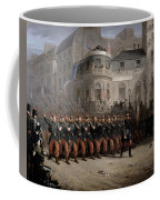 The Return Of The Troops To Paris From The Crimea Coffee Mug by Emmanuel Masse