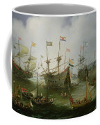 The Return To Amsterdam Of The Second Expedition To The East Indies Coffee Mug