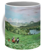 The Rhine Near Sakingen Coffee Mug