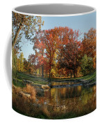 The Rich Autumn Colors In Forest Park. Coffee Mug