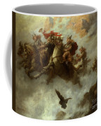 The Ride Of The Valkyries  Coffee Mug by William T Maud