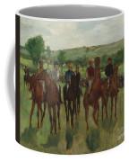 The Riders, 1885 Coffee Mug