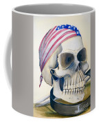 The Rider's Skull Coffee Mug