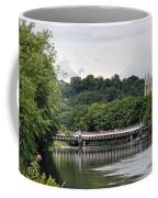 The River And Bridges At Burton On Trent Coffee Mug