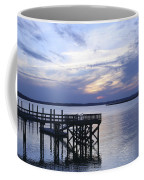 The River At Dusk Coffee Mug