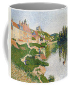 The River Bank Coffee Mug by Paul Signac