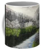 Grayscale The River Coffee Mug
