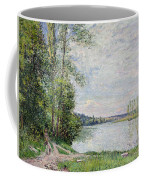 The Riverside Road From Veneux To Thomery Coffee Mug