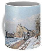 The Road From Gisors To Pontoise Coffee Mug by Camille Pissarro