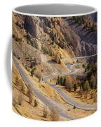 The Road To Izoard Pass - 2 - French Alps Coffee Mug