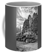 The Rocket Monochrome Coffee Mug