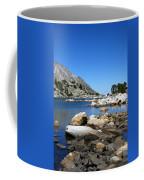 The Rocks Of Treasure Lake Coffee Mug
