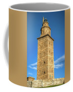 The Roman Lighthouse Known As Tower Of Hercules Coffee Mug