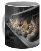 The Room Of Lost Soles Coffee Mug by Lori Deiter