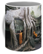 The Roots Of A Strangler Fig Creep Coffee Mug by Paul Chesley