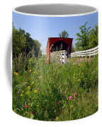 The Roseman Bridge In Madison County Iowa Coffee Mug