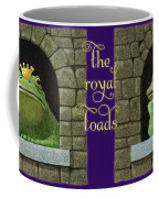 The Royal Toads... Coffee Mug by Will Bullas