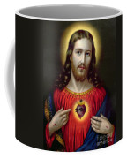 The Sacred Heart Of Jesus Coffee Mug