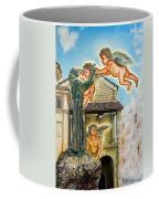 The Saint And The Angels Coffee Mug