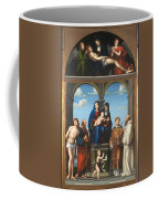 The Saint Anne Altarpiece From San Frediano Lucca Coffee Mug