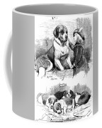 The Saint Bernard Club Dog Show Coffee Mug