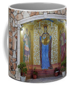 The Saints Are Waiting By The Parking Place Coffee Mug