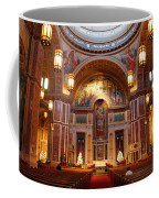 The Sanctuary Of Saint Matthew's Cathedral Coffee Mug