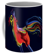 The Scared Rooster Coffee Mug