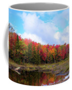 The Scarlet Reds Of Autumn Coffee Mug