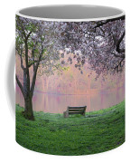 The Schuykill River At Kelly Drive In The Spring Coffee Mug