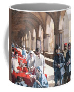 The Scottish Women's Hospital - In The Cloister Of The Abbaye At Royaumont. Coffee Mug