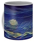 The Sea And Sky Where Thunder Sleeps Coffee Mug