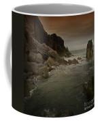 The Sea And The Rocks Coffee Mug
