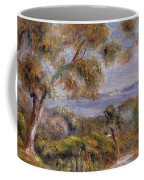 The Sea At Cagnes Coffee Mug