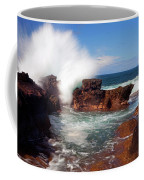 The Sea Explodes Coffee Mug