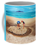 The Sea Surges Up With Laughter Coffee Mug