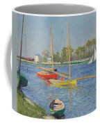 The Seine At Argenteuil Coffee Mug