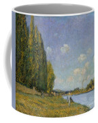 The Seine At Billancourt Coffee Mug