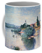 The Seine At Lavacourt Coffee Mug by Claude Monet