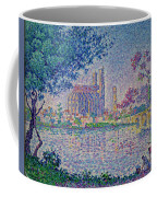 The Seine At Mantes, By Paul Signac, 1899-1900, Kroller-muller M Coffee Mug