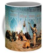 The Serpent Charmer Coffee Mug by Jean Leon Gerome