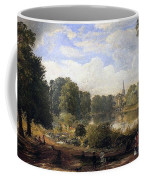 The Serpentine Coffee Mug by Jasper Francis Cropsey