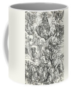 The Seven-headed Beast And The Beast With Lamb's Horns Coffee Mug