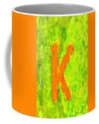 The Sexy K  - Orange -  - Pa Coffee Mug