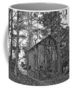 The Shack In Black And White Coffee Mug