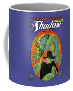 The Shadow Green Eyes Coffee Mug