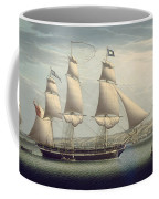 The Ship -favorite-maneuvering Off Greenock Coffee Mug