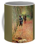 The Shoot Coffee Mug by Claude Monet