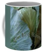 The Shy Cabbage The Keg Room Old English Hunter Green Coffee Mug